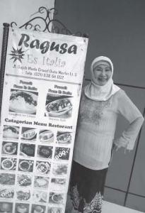Pemilik Ragusa Es Italia yang terkenal di Jakarta. Foto: koran-jakarta.com